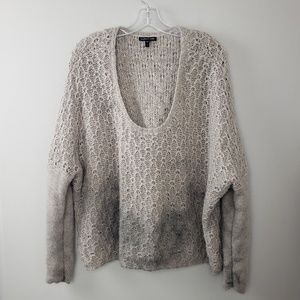 Eileen Fisher Alpaca Chunky Sweater Size Large